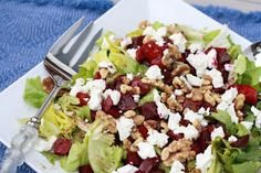 The Sweets Life: Balsamic Roasted Beet Salad