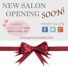 #JJEyelashes is opening a new salon in JULY 2014 so keep an eye on us for upcoming #SPECIALS!    http://jjeyelashes.com/  https://www.facebook.com/jjeyelashes https://twitter.com/jjeyelashes