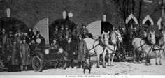 History of the Goderich Fire Department, Motorized Reo, East Street Fire Hall in 1926