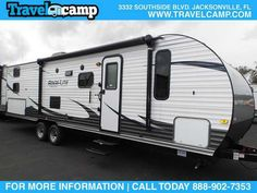 2016 New Gulfstream Amerilite 274QB Travel Trailer in Florida FL.Recreational Vehicle, rv, Travelcamp is a leading online retailer of New & Pre-Owned RVs. For over 30 Years the team at Travelcamp have sold over 25,000 RVs nationally. If you own an RV or are in need of RV related services, are looking to buy an RV, or even interested in selling your RV, Travelcamp is your one stop shop. Travelcamp representatives enjoy the RV lifestyle first hand, and are more than passionate about providing…