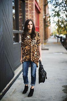 Leopard irma and jeans lularoe