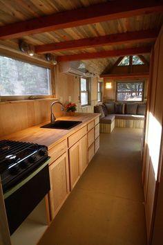 SimBLISSity Aspen 24′ Tiny Home On Wheels   Tiny House for Us: