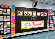 Cassie Stephens: In the Art Room: Our Gallery of Gratitude
