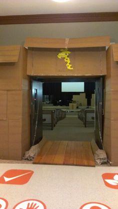 NoAh's ark entrance.