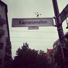Streetart Berlin kastanienallee