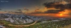Sardinia sunset colors