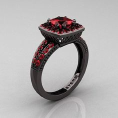 I love this ring! This is my new dream engagement ring!It's so different from your traditional diamond ring!