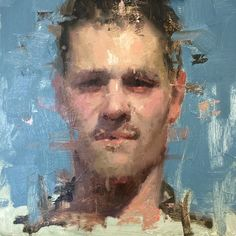 Today's study in my portrait painting class #allaprima #portrait #oilpainting