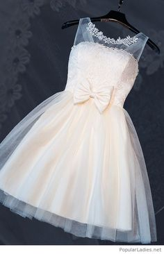 Bowknot Homecoming Dresses, Champagne A-line/Princess Homecoming Dresses, Short Champagne Prom Dresses, 2017 Homecoming Dress Cheap Champagne Bowknot Short Prom Dress Party Dress Champagne Homecoming Dresses, Cheap Homecoming Dresses, A Line Prom Dresses, Prom Party Dresses, Cute Dresses, Short Dresses, Bridesmaid Dresses, Wedding Dresses, Dress Party