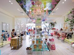 """Designed by Adrian Nancekivell Design with advertising agency Saatchi & Saatchi, Trelise Cooper's store for Kids was awarded the supreme award in New Zealand's Retail Interior Design Awards in 2007.  """"For young and old alike the store is a delightful wonderland of unique ideas. Creativity and imagination has triumphed to provide a lasting impression, memorable and outstanding in terms of its retail experience"""" said judge David Muir"""