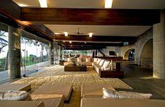 Interior, House by the sea in Maharashtra, designed by Matharoo Associates, Ahmedabad/India