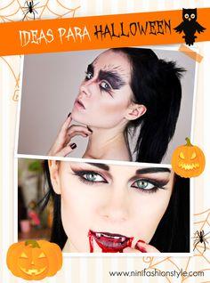 Ideas para arrasar con maquillaje y disfraz para #halloween ya en el #blogdanini muchos tutoriales! Entren al blog :) http://ninifashionstyle.com/index.php/445-ideas-para-halloween