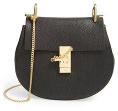5df82dd91fa Chloe Drew Leather Shoulder Bag - Black. This a real high end buyer purse  that