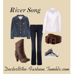 """""""River Song"""" by doctor-who-fashion on Polyvore"""