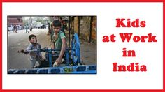 Kids at Work in India