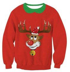 4aa520448c2a Autumn Women Men Sweatshirts Donald Trump Christmas Hip Hop 3D Print  Harajukudresslliy