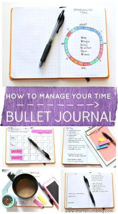 How to start a bullet journal for time management. This post gives you the real reasons why bullet journaling works for time management! I had no idea this simple solution was so powerful! Start a bullet journal to become more Lean with your time!