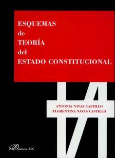 Navas Castillo, Antonia Esquemas de teoria del estado constitucional. Dykinson, D.L. 2011.