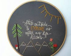 Embroidery by ECLOwen on Etsy