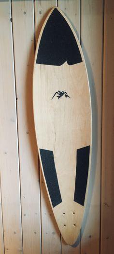 Longboard grip tape design. -Transferring surfboard gripping design to longboard with a rural touch.