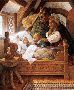 SurLaLune Сказки Блог: Классические сказки с иллюстрациями Скотт Густафсон