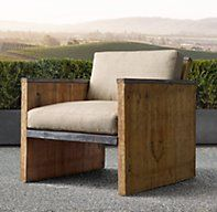 Brickmaker's Lounge Chair. Breathless about this one. Oh my.