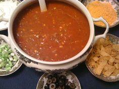 Sweet Tea and Cornbread: Taco Soup!