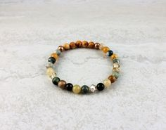 The Hearts & Jewels Collection Limited Edition ♥ Glass, Lava, Metal, Stone, Wood & Swarovski Crystal Raw Wood, Heart Bracelet, Essential Oil Diffuser, Lava, Jasper, Swarovski Crystals, Hearts, Sparkle, Beaded Bracelets