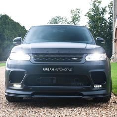 RRS Style 1 in satin Black ... Satin carbon grilles vents and front splitter #rangesport #supecharged #autobiography #carthrottle #evoque #dynamic #urbanautomotive #landrover #landy #rangerover #rangeroversport #car #4x4 #custom #svr #bespoke #celebritycars #leather #carinterior #landroverdefender #recaro #cargasm #supecharged #autobiography #carporn #instacar #urban by urbanautomotive RRS Style 1 in satin Black ... Satin carbon grilles vents and front splitter #rangesport #supecharged…