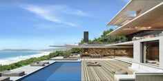#Modern #Home Design + Pool   Beachy Head   Plettenberg, South Africa   SAOTA