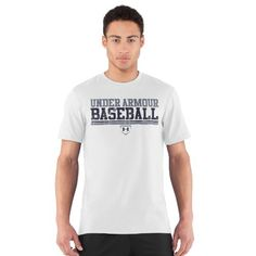 Men's UA Collegiate Baseball T-Shirt Tops by « Impulse Clothes