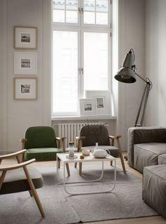 Loft interior on Behance