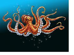 Octopus, Apps, Animals, Animales, Animaux, Animal, App, Calamari, Animais