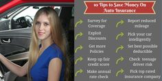 10 Tips to Save Money on Your Auto Insurance  #auto #carinsurance #autoinsurance