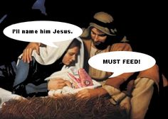 Baby Raptor Jesus