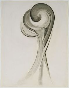 Georgia O'Keeffe - No. 12 Special, 1916 - charcoal on paper Georgia Okeefe, Georgia O'keefe Art, Georgia O Keeffe Paintings, Modern Art Artists, Alfred Stieglitz, New York Art, Abstract Drawings, Art Institute Of Chicago, Museum Of Modern Art