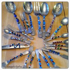 Measurements of Merriment: make your own blingy serving ware.