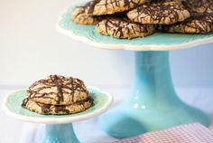 So good!  Coconut, Chocolate and Pecans - German Chocolate Macaroons -  Low Calorie, Low Fat,  Gluten Free Cookies