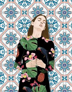 We're loving the beautifulpattern-centric work ofStefania Tejada whois an illustrator, designer, communication developer, content producer and stylist b