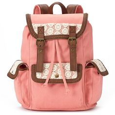 Candie's® Anna Crochet Backpack