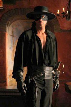 Christian Meier as Zorro.