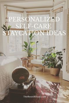 Your self-care staycation should be unique to you, cater to your personality, and fill you up in whatever way you need right now. Make your next at-home wellness retreat a reality with these self-care staycation ideas and tips. #selfcare #selflove #wellne