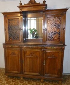 Buffet vaisellier antique style Henry II | buffets, vaisseliers | Drummondville | Kijiji