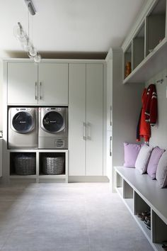 We design Bespoke Furniture for your Bedroom, Kitchen, Bathroom, and every room of your home. Mudroom Laundry Room, Laundry Room Layouts, Laundry Room Design, Boot Room Utility, Utility Room Storage, Utility Sink, Ikea Utility Room, Alcove Storage, Storage Ideas