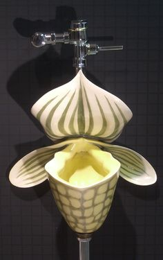 urinal sculpture by clark sorensen