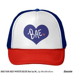 BAE USA RED WHITE BLUE Hat by Mini Brothers