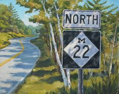 M-22.  Probably my favorite road.  Michigan 22.  It is very scenic.  I also really like M-204, Popp Rd., East Ryan's Way, Plamondon Rd., Baxter Lane, Chelsea Drive, and Magnolia.  Now, figure that out.... ; )