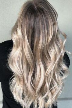 long balayage curls
