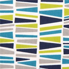 Robert Kaufman Flanellstoff grafisches Mosaik Muster petrol 1