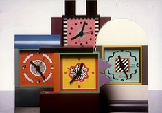 Industrial Design Product Image Product: Neos collection - table clocks Company: Lorenz Category: Clocks & Watches 1988 sowden